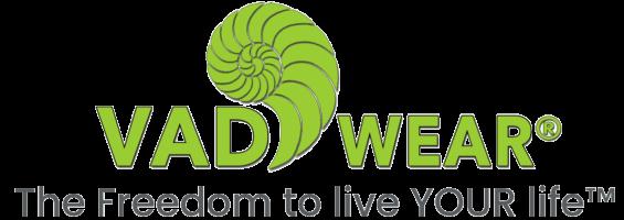 VAD logo tagline thinner